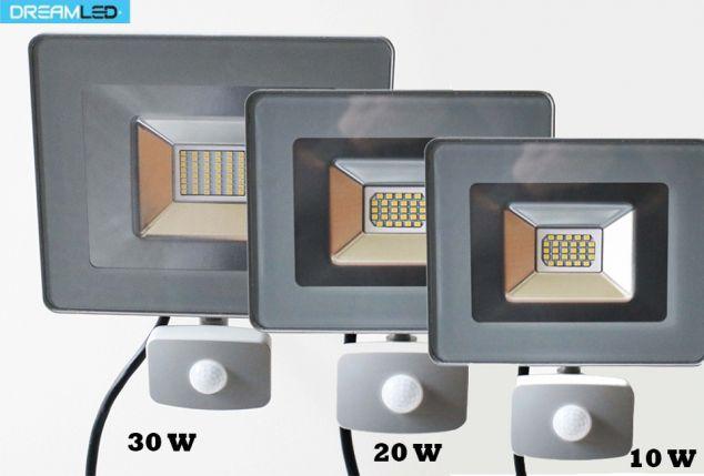 Spot extérieur LED avec ou sans capteur