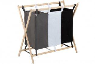Wäsche-Sortierer mit 3 Taschen