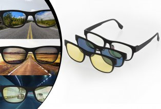 3-in-1 zonnebril
