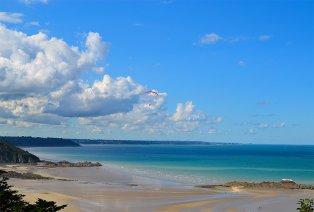 Genießen Sie die Bucht von Saint-Brieuc (Bretagne)