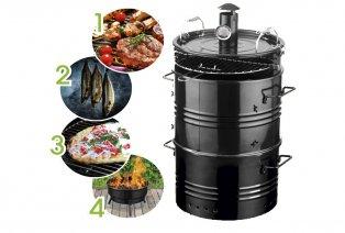 Barbecue 4 en 1