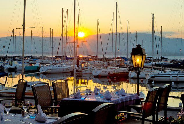 Luxueus verblijf in de Haute Savoie met zicht op het meer van Geneve - Hotel Le Jules Verne