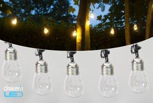 Tira de luz LED con apariencia vintage