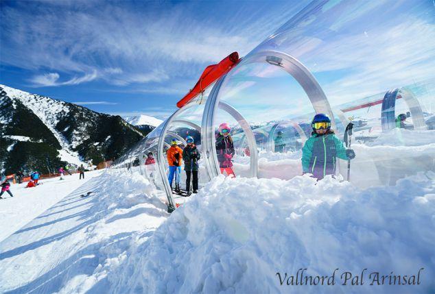 Skiën in Andorra of Oostenrijk, incl. slaapbus, halfpension en skipas