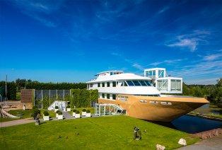 Viersterrenverblijf met toegang tot unieke wellnessboot