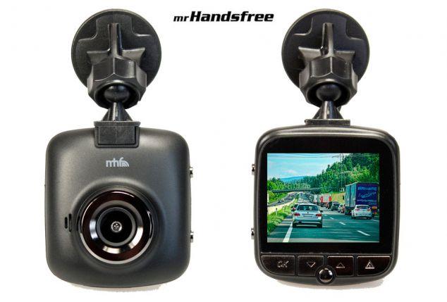 Compacte verkeersrecorder voor video-opnames in de auto
