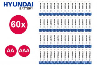 Pilas Hyundai tipo AA o tipo AAA