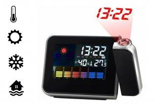 Reloj digital con proyección