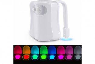Une lumière LED pour éclairer vos toilettes