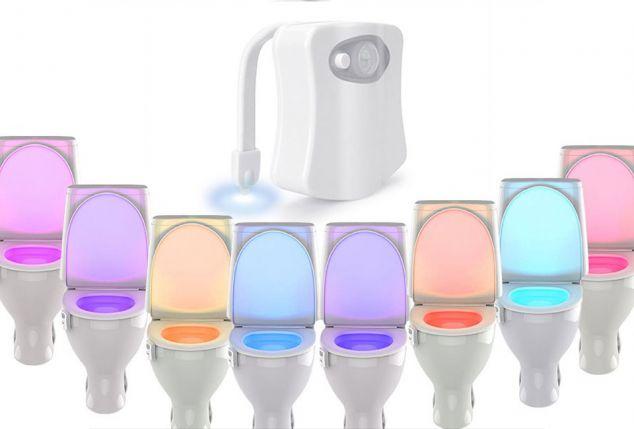 Illuminazione led per wc outspot