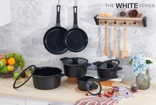 10-teiliges keramisches Kochgeschirr-Set