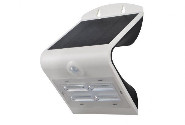 Plafoniera Da Esterno Con Sensore Di Movimento : Plafoniera a led energia solare e con sensore di movimento