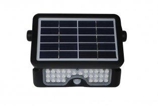 Lámpara solar LED multifuncional para exteriores con sensor de movimiento