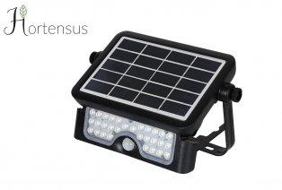 Lámpara solar LED con sensor de movimiento