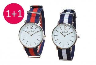 Trendy horloge 1 + 1 GRATIS