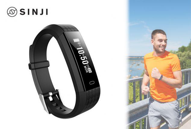 Sinji activity tracker met activiteits- en hartslagmeter