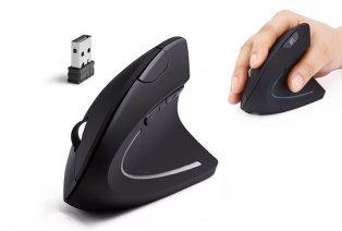 Mouse wireless ergonomico