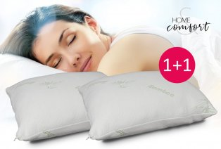 Almohada de espuma viscoelástica 1 + 1 GRATIS