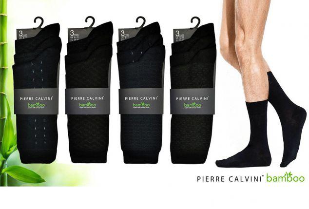 12 paires de chaussettes douces en bambou Pierre Calvini