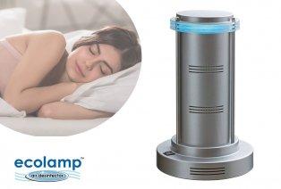 Luftreinigende Eco-Lampe