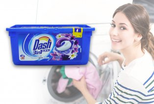 Capsules de lessive liquide Dash 3 en 1