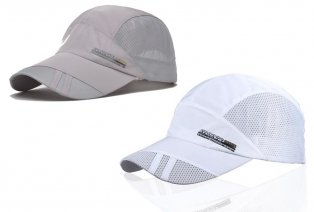 Gorra transpirable