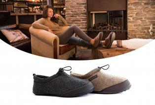 Zapatillas con forro muy cálido