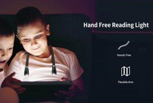 Lámpara de lectura manos libres