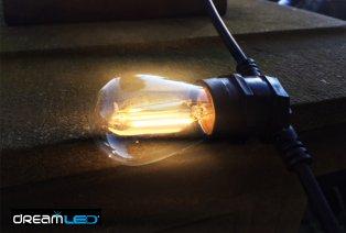 Sfeervol lichtsnoer voor binnen- en buitenshuis