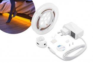 Bandeau LED à placer sous le lit