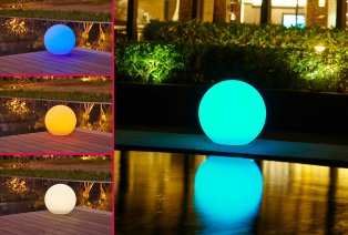 Boule LED décorative
