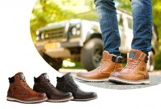 Chaussures hommes en cuir