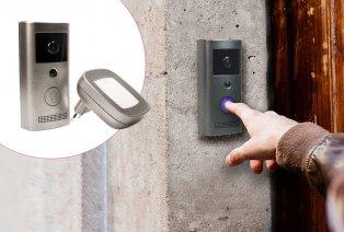 Timbre inteligente de puerta con cámara
