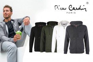 Sweater sportif à capuche avec fermeture éclair