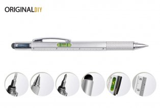 Multifunctional 6-in-1 pen