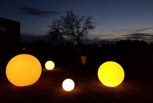 Boule LED décorative