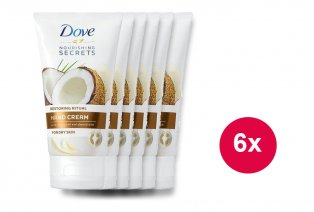 6 x 75 ml crema de manos Dove