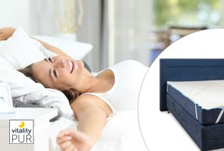 Protector de colchón con efecto frío