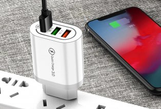 3-in-1 snellaadadapter