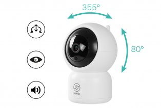 Caméra intelligente Sinji