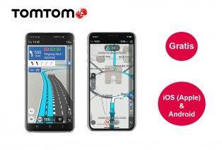3 maanden gratis TomTom Go Navigation