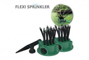 Set de 2 arroseurs de jardin flexibles