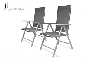 Set aus 2 Gartenstühlen