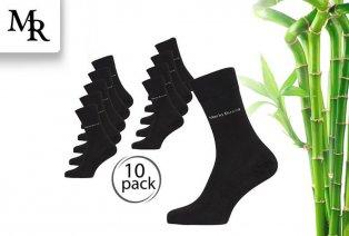 10 pairs of Mario Russo bamboo socks