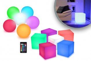 Esfera o cubo LED