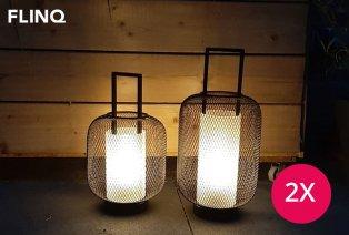Lanterne LED tendance avec minuteur