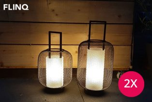 LED-Laterne mit Zeituhr