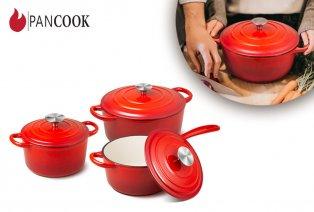 Set de casseroles en fonte - 6 pièces