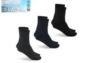 3 o 6 paia di calzini termici invernali